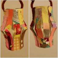 scrap paper lantern